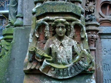 Roslyn Chapel. Patience Angel