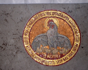Dominus Flevit Chapel.hen gathers her chicks