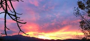 pikespeak sunset