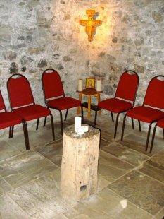 Marygate Retreat House Crypt. Holy Island